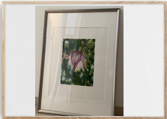5.Carmen Lindahl, litografi